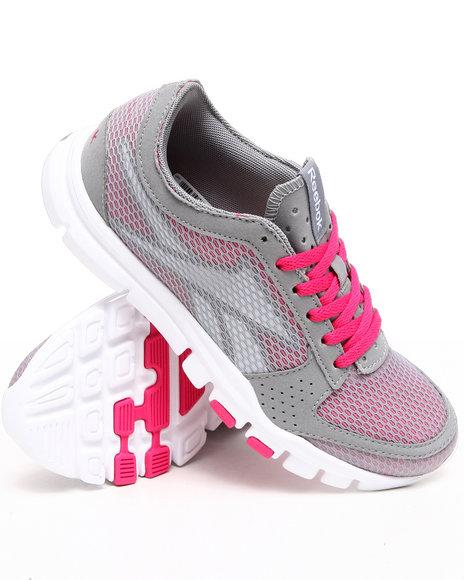 Reebok Women Grey Yourflex Trainette 2.0 Sneakers