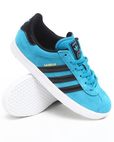 Adidas Boys Teal Gazelle 2 J Sneakers