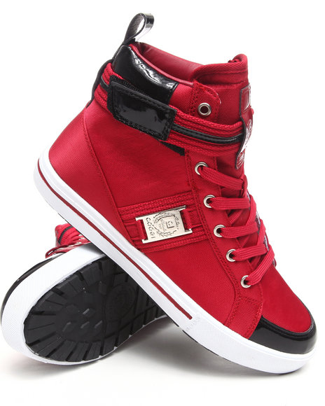 Coogi Men Red Profly Hightop Sneaker