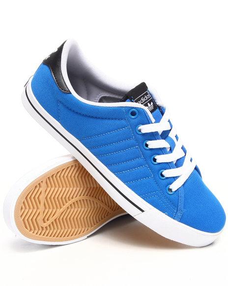 Adidas Men Blue Adidas Skate Adi Court Sneakers