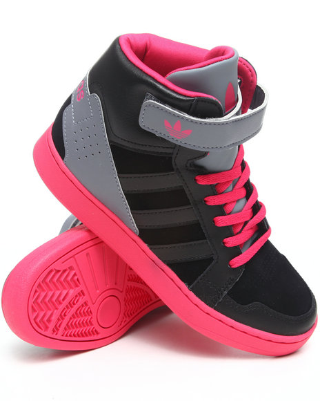 Adidas Boys Black,Dark Pink Ar 3.0 J Sneakers