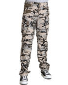 Men - Crosby Camo Cargo Pants