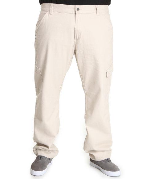 Pelle Pelle Men Khaki Pelle Cargo Pants