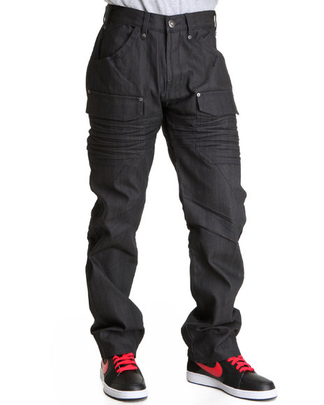 A Tiziano Men Navy Bennett Denim Jeans