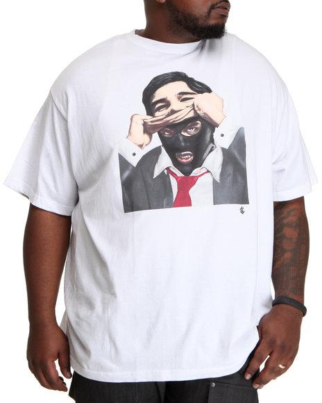 Rocawear Men White Politics S/S Tee (B&T)