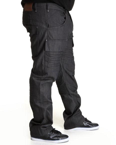 A Tiziano Men Navy Bennett Denim Jeans (B&T)