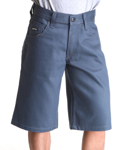 Enyce Men Blue,Grey New Tradition Color Short
