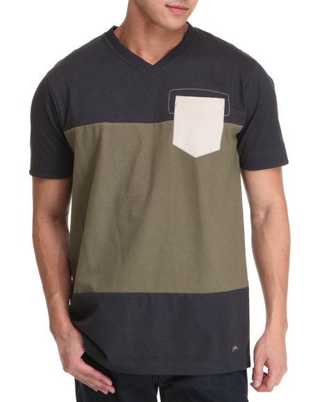 A Tiziano Men Navy Journey T-Shirt