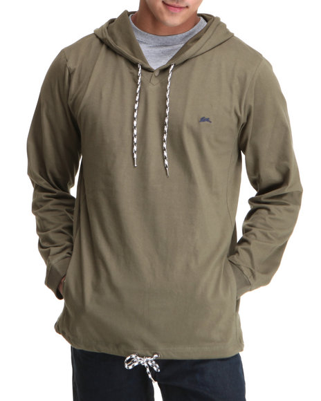 A Tiziano Men Forest Green Palmer Hoodie