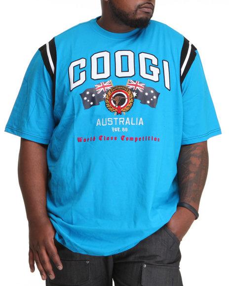 COOGI Men Blue Thrones Authentic Tee (B&T)