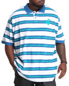 Rocawear - Mini Flame Stripe S/S Polo (B&T)
