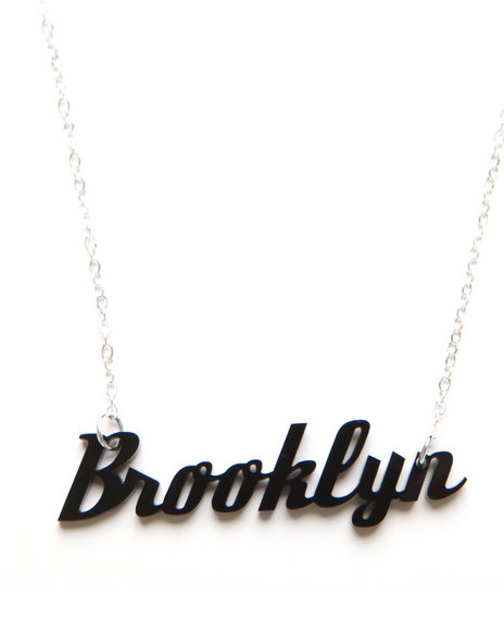 Plastique Women Brooklyn Necklace Black