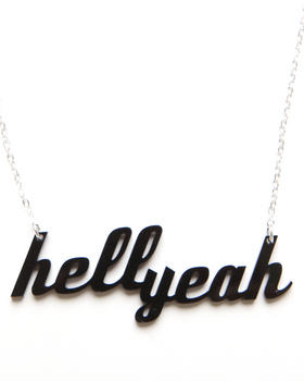 Plastique - Hell Yeah Necklace