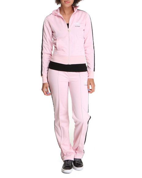 Ecko Red - Women Light Pink Active Tracksuit Set