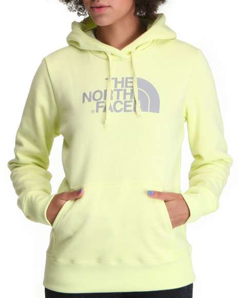 The North Face Women Yellow Half Dome Hoodie