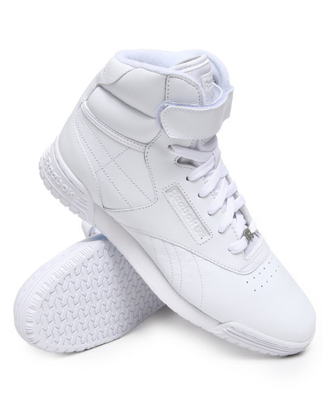 Reebok Men Exofit Hi Clean Logo R12 Sneakers White 13