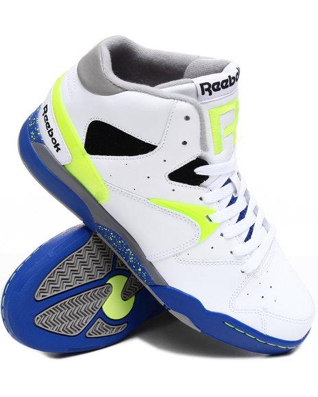 Reebok Men White Classic Jam Sneakers
