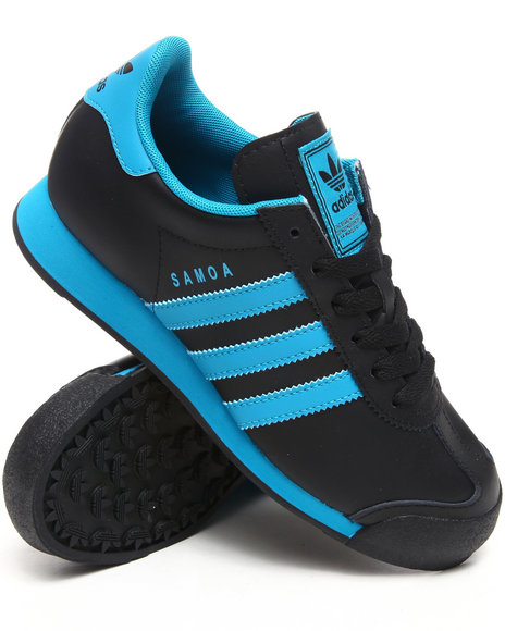 Adidas Boys Black Samoa Sneakers