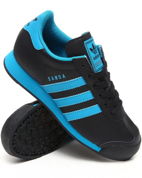 Adidas Boys Black Samoa Sneakers