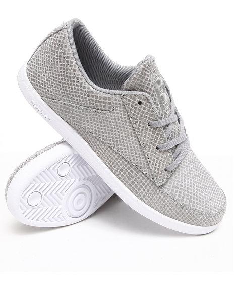 Reebok Men Grey Sl Berlin Deck Snakeskin Style Sneakers