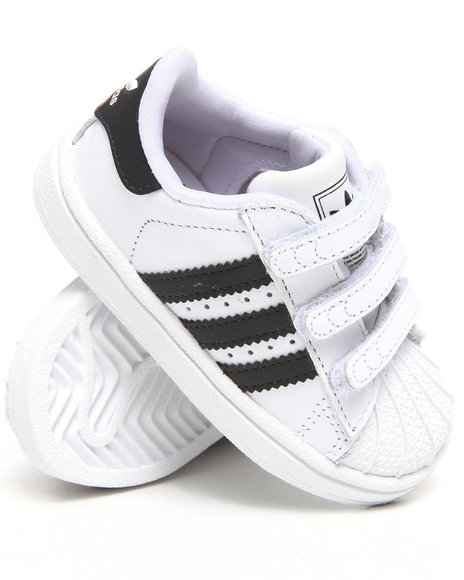 Adidas Boys White Superstar 2 Comfort Infantsant Sneakers (Toddlers)