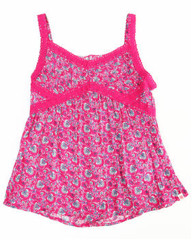 Lucky Brand - FLORAL PRINTED CAMI (7-16)