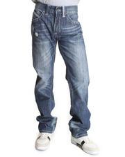 Jeans & Pants - Indigo wash Boot Stitch denim jeans