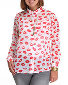 Tops - Lips Chiffon Top
