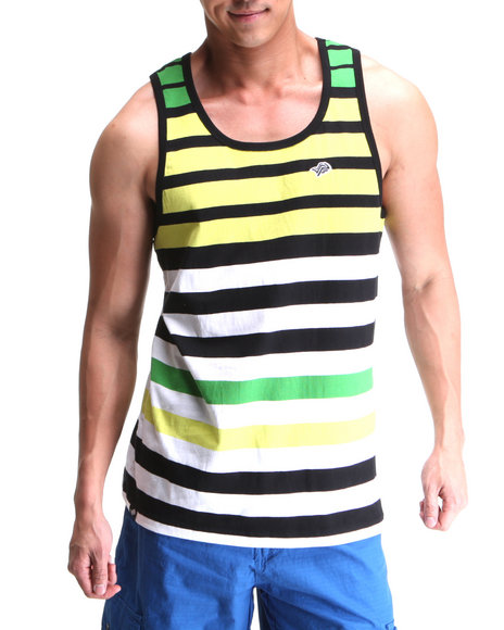 Men Striped Tank