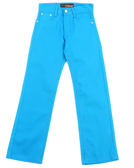 Akademiks Boys Teal Bull Denim Jeans (8-20)