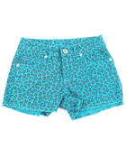 Z. Cavaricci - ANIMAL PRINT SHORTS  (7-16)