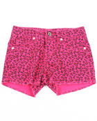 Bottoms - ANIMAL PRINT SHORTS  (7-16)