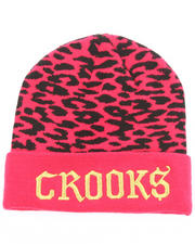 Animal Prints & Patterns - Crooks Animal Printed Beanie