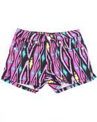 Bottoms - IKAT PRINT SHORTS (4-6X)