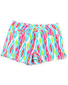 Bottoms - IKAT PRINT SHORTS (7-16)