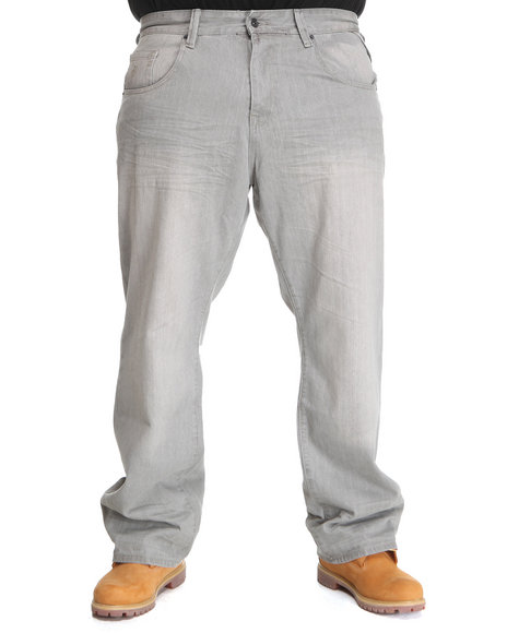Rocawear Men Grey New Grey Jeans (B&T)