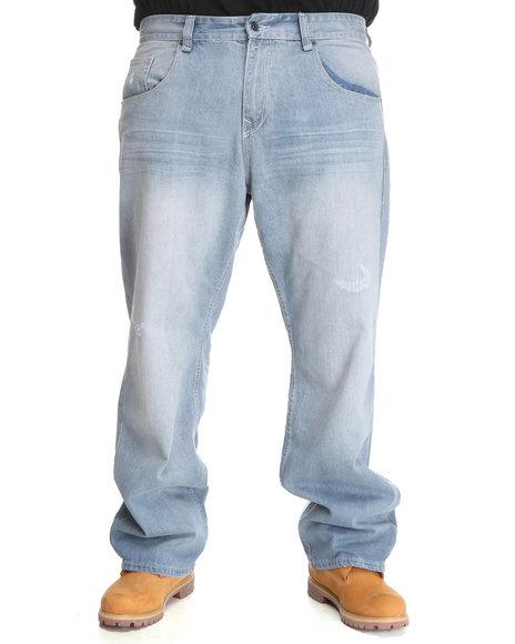 Rocawear Men Light Wash D.B. Fresh Jeans (B&T)