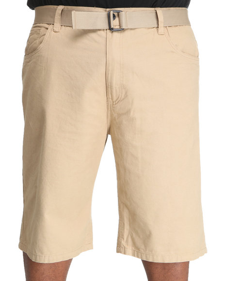 Enyce Men Khaki Whisky Short (B&T)