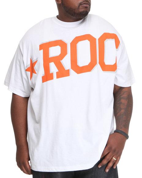 Rocawear Men White Roc Star S/S Tee (B&T)