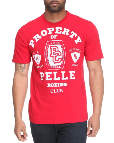 Pelle Pelle Men Red S/S Pelle Boxing Club Tee