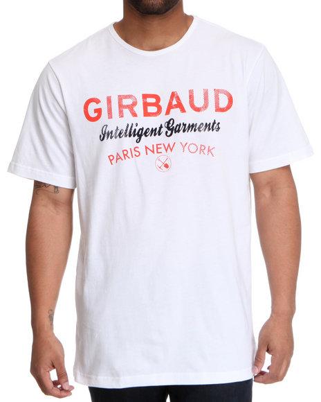 Girbaud White Basic Brand T-Shirt