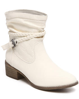 Fashion Lab - Pike Bootie W/braid detail