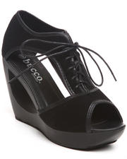 Wedges - Padme Donut Wedge Shoe w/laceup