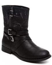 Fashion Lab - Kanora Bootie w/laser cut