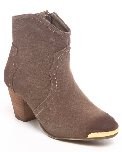 Fashion Lab - Eleri Ankle Bootie w/toe plate