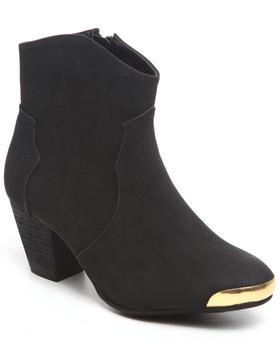 Fashion Lab - Eleri Ankle bootie w/toe plate