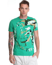 Shirts - T-Fleet Indian Head Camo Tee