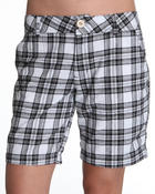 Basic Essentials - Plaid Shorts