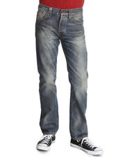 Men - Straight Alf Organic Cloudy Vintage Jeans