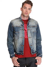 Jackets & Coats - Faded Light Wash Denim Jacket